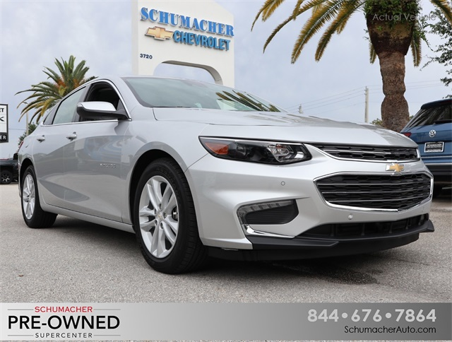Certified Pre-Owned 2018 Chevrolet Malibu Hybrid