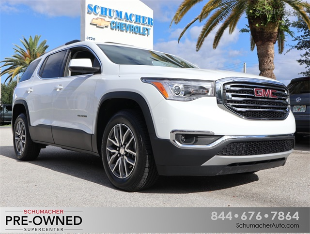 Certified Pre-Owned 2017 GMC Acadia SLE-2