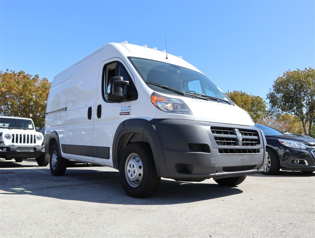 New 2018 Ram ProMaster 2500 High Roof