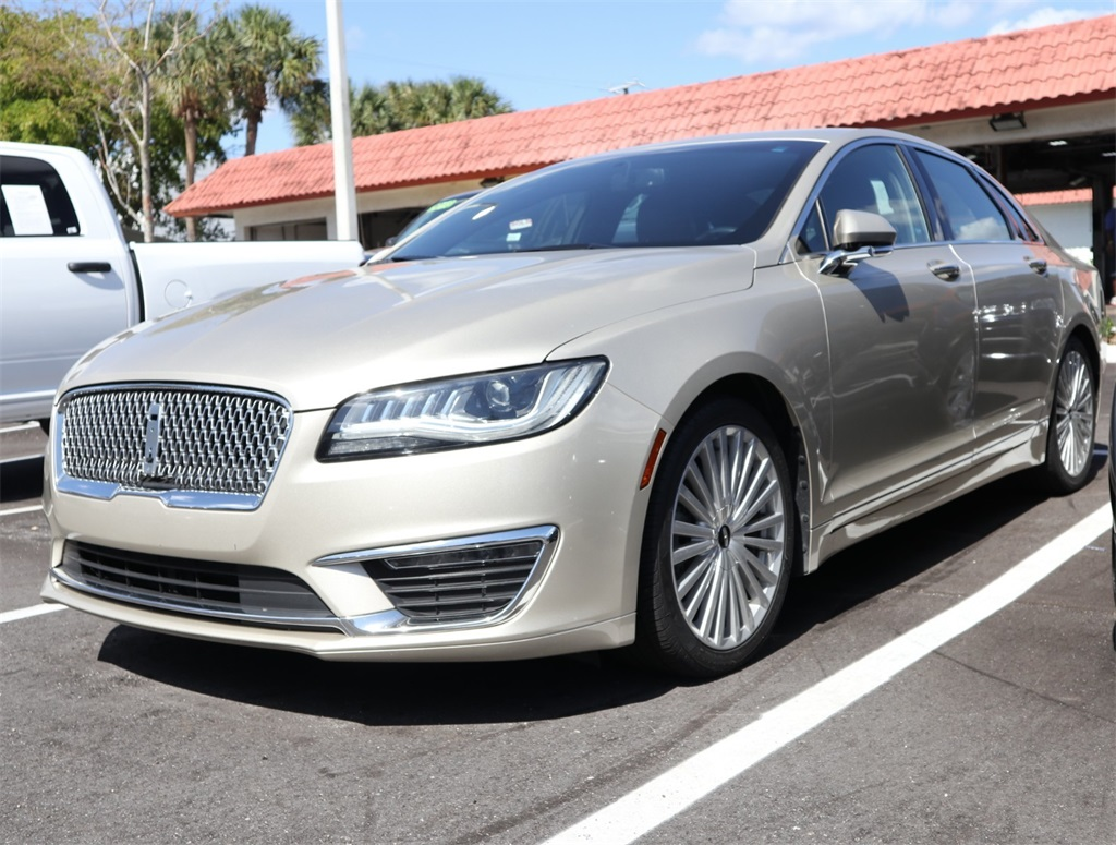 Certified Pre Owned 2017 Lincoln Mkz Hybrid