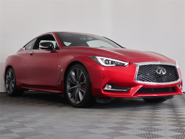 New 2019 Infiniti Q60 Red Sport 400 With Navigation Awd