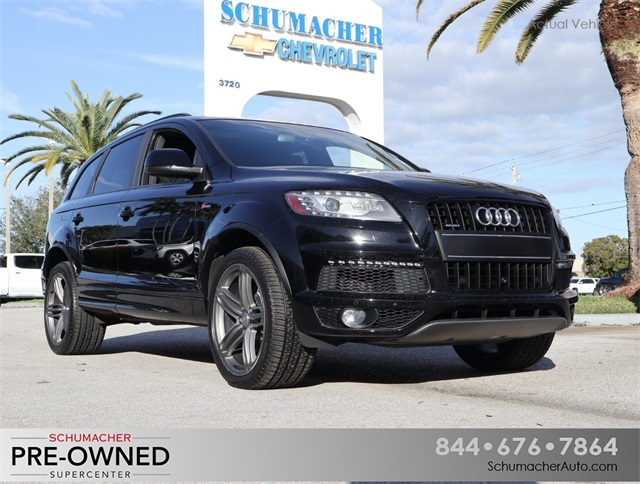 Used 2015 Audi Q7 3 0t S Line Prestige For Sale West Palm Beach Fl