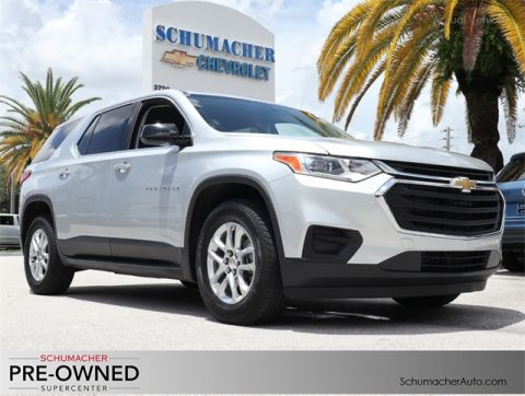 Certified Pre-Owned 2018 Chevrolet Traverse LS